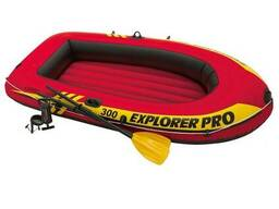 Надувная лодка Intex 58358 Explorer Pro 300 Set