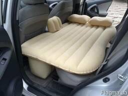 Надувной матрас диван в автомобиль. Авто матрас с насосом.