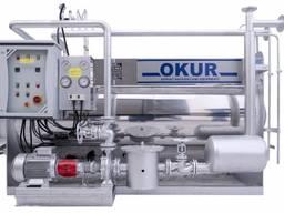 Нагреватель жидкого теплоносителя KYK-1000 (Газовый) OKUR,
