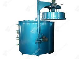 Нагревательная шахтная печь