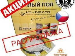Нагревательный кабель в стяжку теплый пол In-Term Чехия