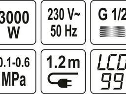 Нагрівач води з LCD-дисплеєм Kalta-2 FALA 3кВт до 60°С 0.1-0.6 Мпа