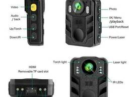 Нагрудный видеорегистратор полицейский на одежду Boblov WN9, FullHD 1080P, 170. ..