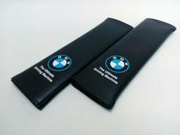 Накладка на ремень безопасности BMW Black
