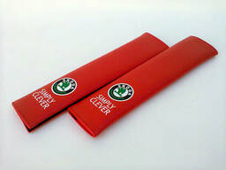 Накладка на ремень безопасности Skoda RED