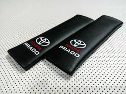 Накладка на ремень безопасности Toyota Prado Black