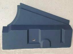 Накладка порога пола задняя правая Таврия. ЗАЗ 1102-5109072
