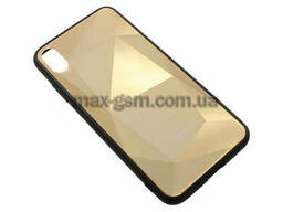 Накладка Rock 3D Crystal Apple iPhone XS Max gold