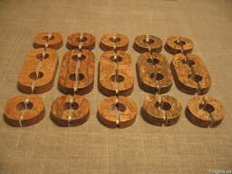 Накладки на трубы с пробковым шпоном