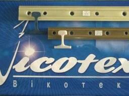 Накладки стыковые изолирующие Р65,Р50,UIC60.