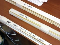 Накладки толщиной 2 мм для ТВС 1К62 длиной 320, 500 и 600мм