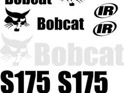 Наклейка, стикер, декали, логотип bobcat бобкет, бобкэт, боб