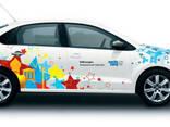 Рекламньіе наклейки на авто, реклама на транспорте - фото 2
