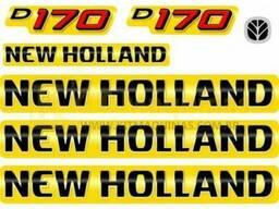 Наклейки на комбайн Нью Холанд New Holland