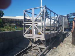 Наклонный грузовой подъёмник виралифт, монтаж по Украине