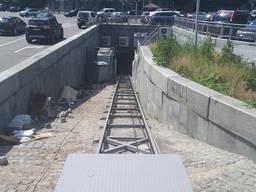 Фасадный, складской, шахтный лифт для перемещения товара