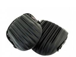 Наколенники резиновые утолщенные. Материал:резина. Из резины с рифленной структурой