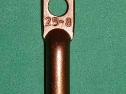 Наконечник медный с удлиненным захватом кабеля ДТ 25-6 (8.10)
