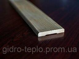 Наличник деревянный 13х100х2200мм, евро, сосна срощенная. ..