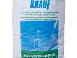 Наливной монолитный пол Knauf Флисестрих Fe-30 40 кг