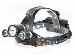 Налобный фонарь RJ3000 Boriut
