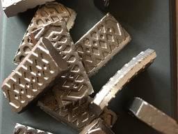 Напайка алмазных сегментов на короноки. - фото 7