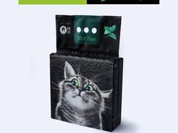 Наполнитель для кошачьих туалетов FUN CAT Mint Paws