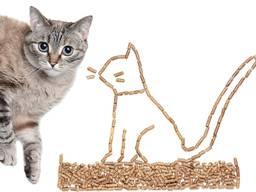 Наполнитель кошачий туалет древесный гранула сосна 15кг