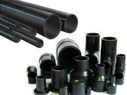 Напорные полиэтиленовые трубы марки ПЭ-100