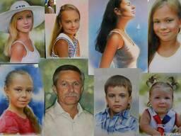 Нарисовать портрет с фотографии Киев Украина - фото 4