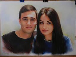 Нарисую портрет по фото на заказ Украина - фото 5