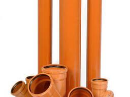 Трубы ПВХ (канализационные)