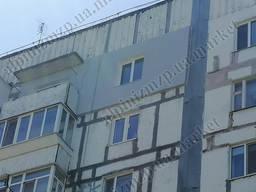 Наружное утепление домов г. Запорожье