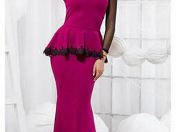 Нарядное женское платье в пол 42-44, доставка по Украине