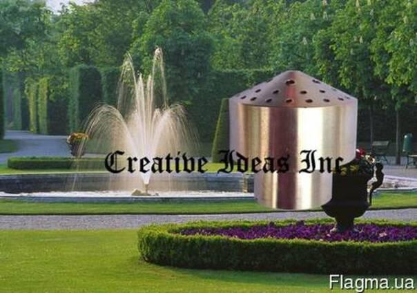 Насадка латунная для фонтана Фейерверк 4 яруса