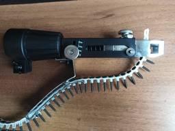Насадка на дрель шуруповерт с ленточной подачей саморезов