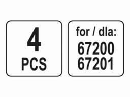 Насадки для парових очисників 67200, 67201 LUND : 4 шт
