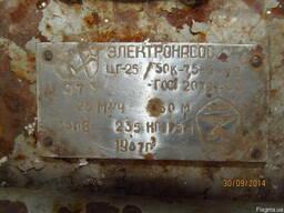 Насос центробежный герметичный ЦГ 25/50 K б/у