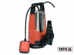 Насос для брудної води YATO 1100 Вт 14 л/год 10 м