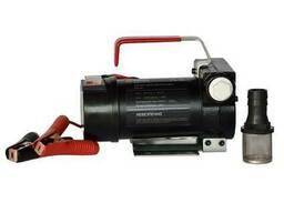 Насос для перекачки дизельного топлива 12-24в, 40-75 л/мин .