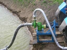 Насос для полива от вала отбора трактора