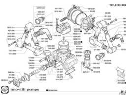 Насос к прицепным опрыскивателям 133 л/мин