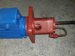 Насос пластинчатый для смазки С12-51, с плитой и мотором - фото 4