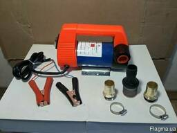 Насос помпа, 12v для перекачки топлива дизеля масла бензина