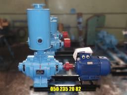 Насос ВВН 1-6 вакуумный насосный агрегат ВВН 1 6 цена ВВН