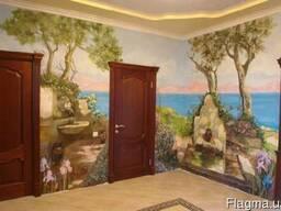 Настенная роспись. Интерьерная и фасадная. Рисую на стенах и