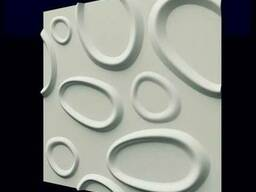 """Настенные 3Д панели"""" брызги"""" из гипса"""