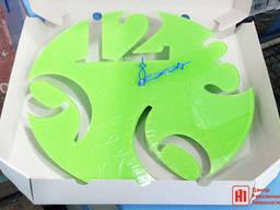 Настенные часы с нанесением логотипа или символики