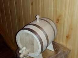 Настоящие дубовые бочки для вина. Производство.