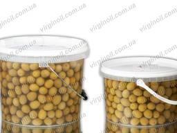 Настоящие греческие оливки Green Agriniou калибр 101-110 шт. в 1 кг